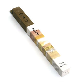 NOKIBA - MOSS GARDEN INCENSE (SM) 35 STICKS
