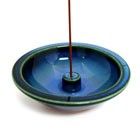 DEEP BLUE INCENSE HOLDER