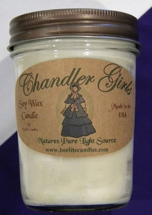 SANDALWOOD SOY CANDLE, 8 OZ
